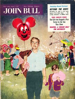 John Bull 1950s UK balloons candy-floss magazines