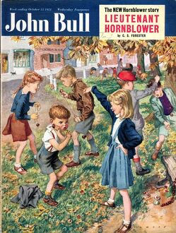 John Bull 1950s UK conkers games magazines