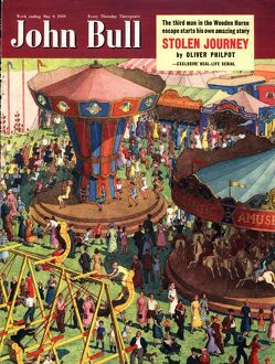 John Bull 1950s UK covers magazines