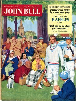 John Bull 1950s UK cricket magazines