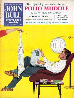 John Bull 1950s UK dish washing magazines man men kitchens