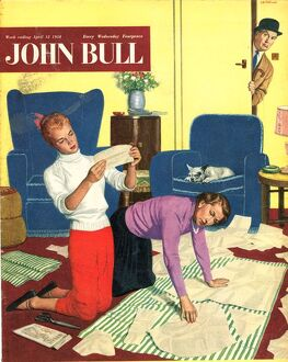 John Bull 1950s UK dressmaking magazines