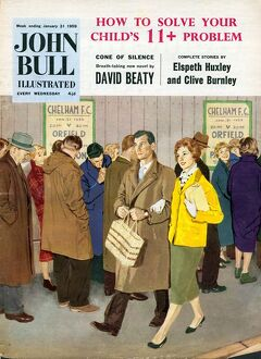John Bull 1950s UK football magazines