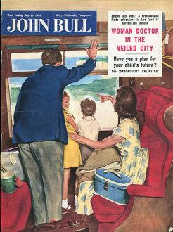 John Bull 1950s UK holidays seaside trains magazines