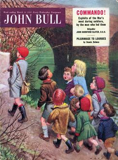 John Bull 1950s UK leaders following fishing sport magazines