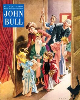 John Bull 1950s UK nativity plays magazines
