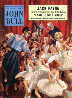 John Bull 1950s UK pantomimes school plays churches hall ballet magazines dancing