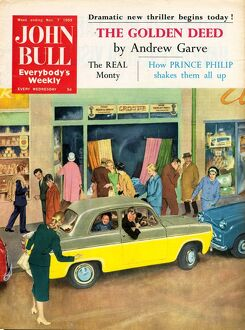 John Bull 1950s UK parking magazines cars