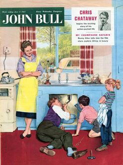 John Bull 1950s UK plumbers plumbing diy mending kitchens sinks magazines do it yourself
