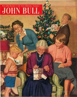 John Bull 1950s UK presents trees magazines