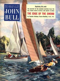 John Bull 1950s UK sailing boats magazines