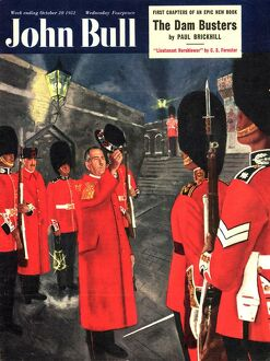 John Bull 1951 1950s UK beefeaters london attractions tourists guards britannia magazines