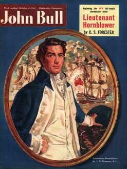 John Bull 1951 1950s UK Hornblower sailors admirals navy ships nautical magazines