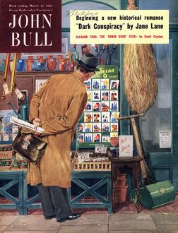 John Bull 1952 1950s UK seeds shopping magazines