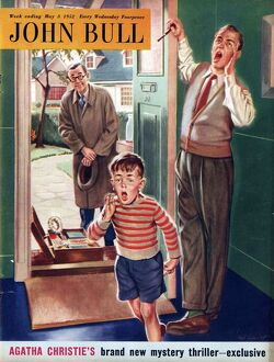 John Bull 1952 1950s UK travelling salesman salesmen door to door magazines
