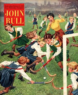 John Bull 1953 1950s UK hockey magazines