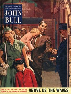 John Bull 1953 1950s UK railways stations tickets magazines family