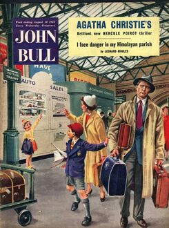 John Bull 1956 1950s UK trains stations railways holidays magazines