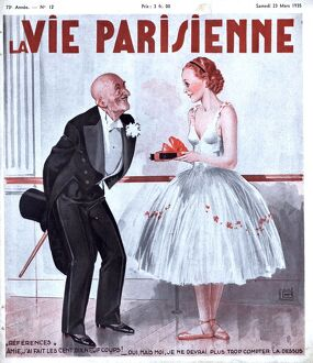 La Vie Parisienne 1935 1930s France magazines mens womens ballet dancers gifts presents