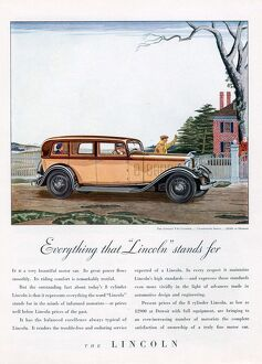 Lincoln 1932 1930s USA cc cars