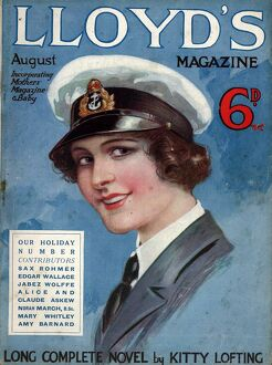 Lloyds 1917 1910s UK portraits magazines