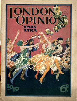 London Opinion 1919 1910s UK first issue magazines