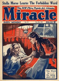 The Miracle 1930s UK gypsies death deathbed sick illness magazines