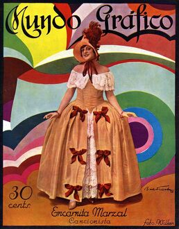 Mundo Grafico 1928 1920s Spain cc magazines womens dresses costumes