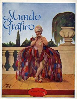 Mundo Grafico Spain cc magazines exotic costumes feathers womens