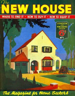 New House 1935 1930s UK moving houses property magazines for sale selling buying