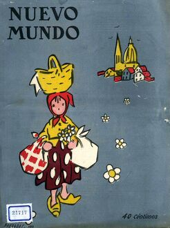 Nuevo Mundo 1919 1910s Spain cc magazines flowers flower-girls runaways leaving home