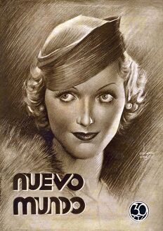 Nuevo Mundo 1933 1930s Spain portraits womens hats cc