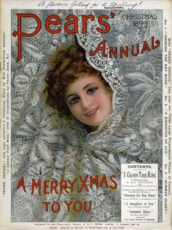 Pears Annual 1899 1890s UK cc Christmas cards
