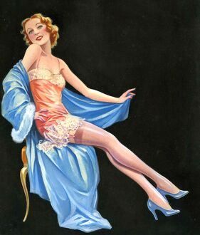 Pinups 1940s UK Laurence Miller pin-up pinups pin-ups