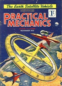 Practical Mechanics 1950s UK visions of the future futuristic magazines