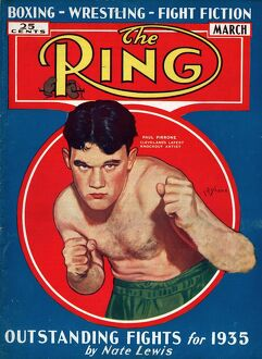 The Ring 1934 1935 1930s USA boxing boxers magazines