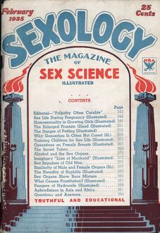 Sexology 1930s USA magazines