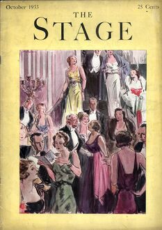 The Stage 1933 1930s USA first nights magazines
