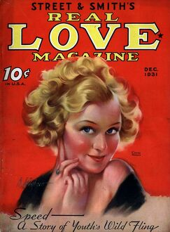 Street and SmithA•s Real Love Magazine 1930s USA magazines Smiths