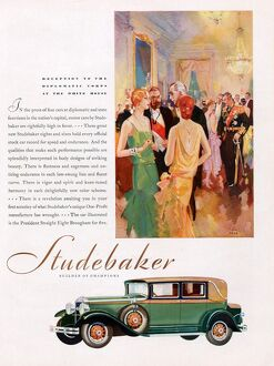Studebaker 1929 1920s USA cc cars reception party