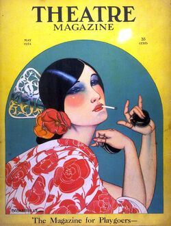 Theatre 1920s USA spain spanish senorita instruments castanettes magazines art deco