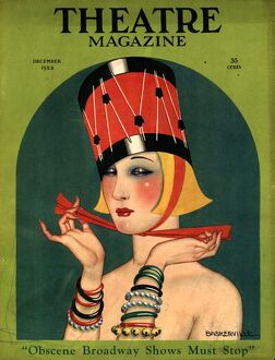 Theatre 1923 1920s USA magazines art deco