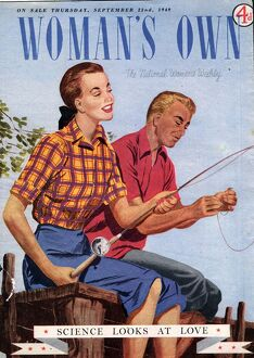 Woman's Own 1940s UK fishing magazines