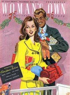 Woman's Own 1940s UK presents gifts magazines