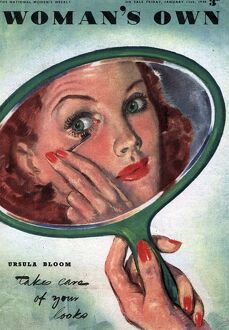 Woman's Own 1944 1940s UK make-up makeup mascara magazines