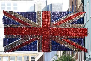 Union Jack Flags in Carnaby Street