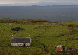 An abondoned farmhouse in Applecross, Scotland