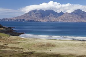 The Bay of Laig in the island of Eigg.