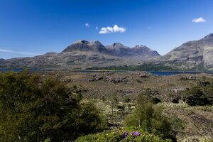 Beinn Alligin in Torridon, Scotland.