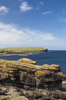 Brough of Birsay in Orkney, Scotland.